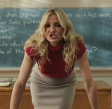 Cameron diaz bad teacher sex scene
